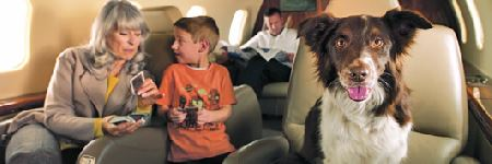 family-with-dog-on-private-jet-1